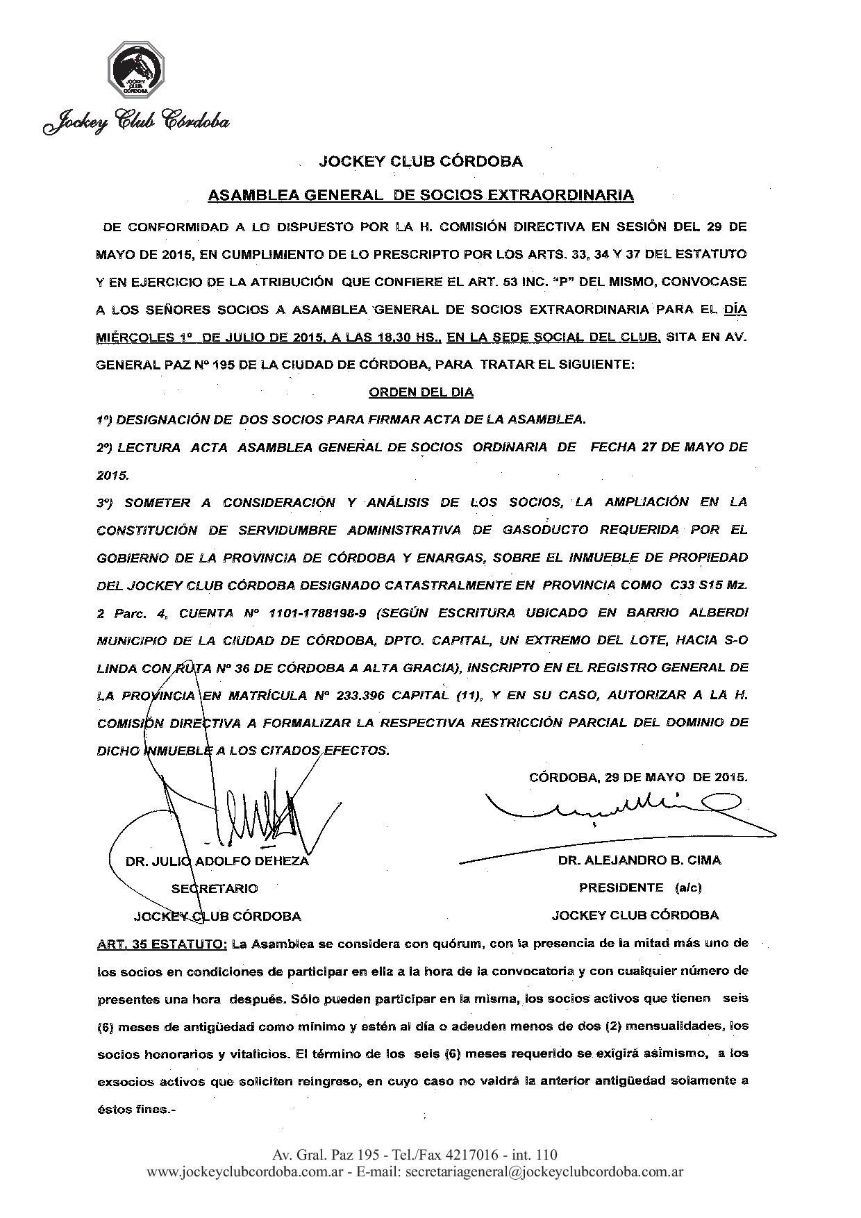 LLAMADO ASAMBRLEA GENERAL EXTRAORDINARIA-page-001