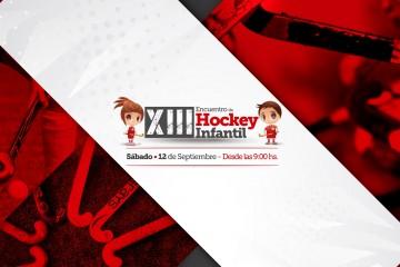 12 Encuentro de Hockey Intantil - JCC Hockey -EN ROJO - Portadas y banner web