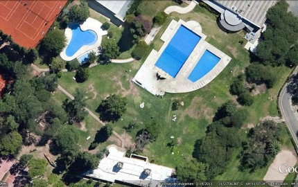 Pileta Descubierta - Satelital - Jockey Club Córdoba