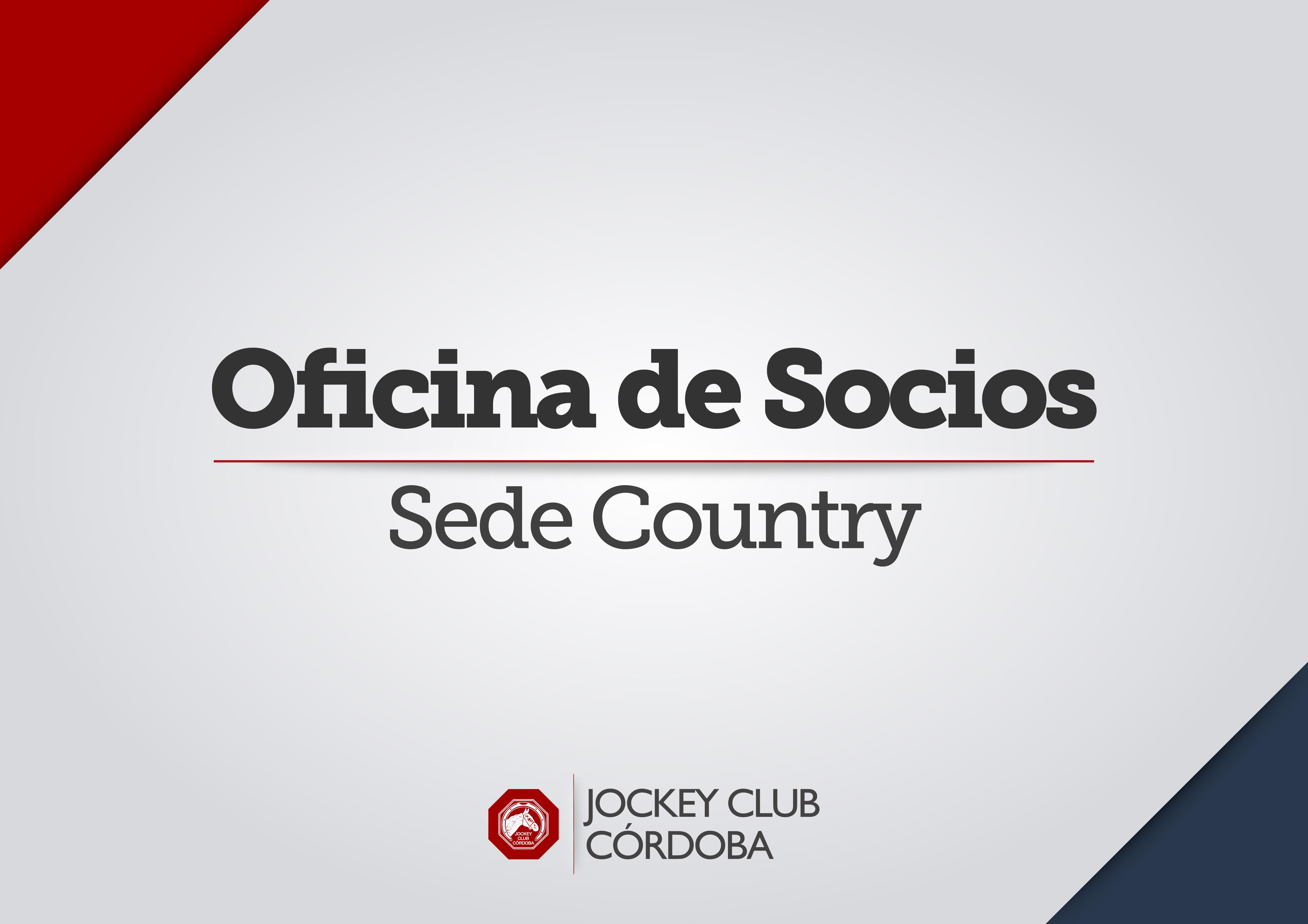 Oficina de Socios - SedeCountry -A3-Cantidad-2