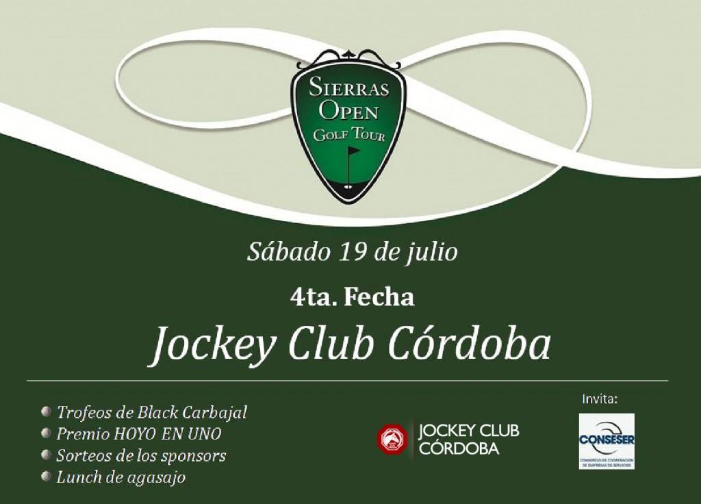 Jockey Club Córdoba | Golf - 4ta. fecha del Sierras Open