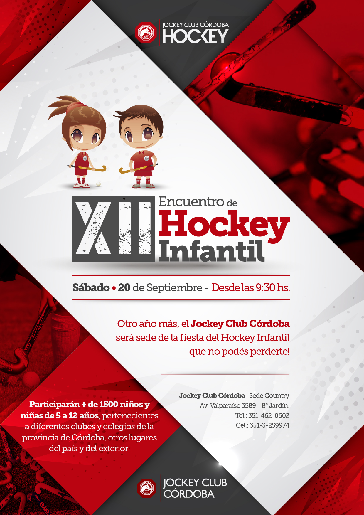 12 Encuentro de Hockey Intantil - JCC Hockey