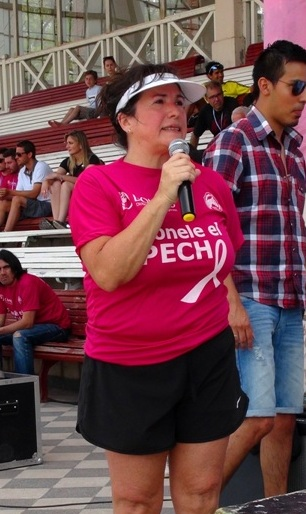 Marta Machado - 1er maraton contra el cancer de mama - Jockey Club Córdoba - Dominis