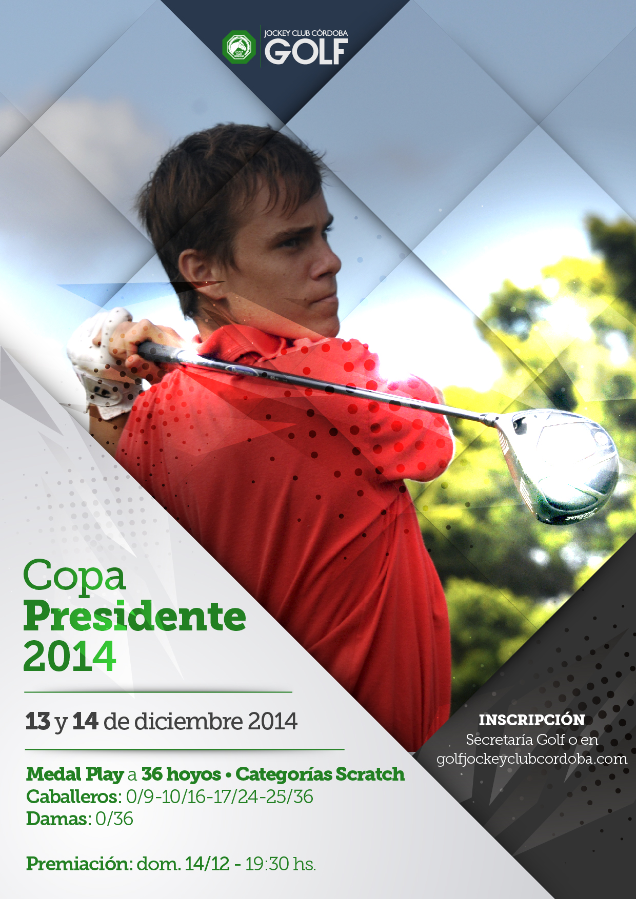 Jockey Club Córdoba Golf - Copa Presidente 2014-01-01