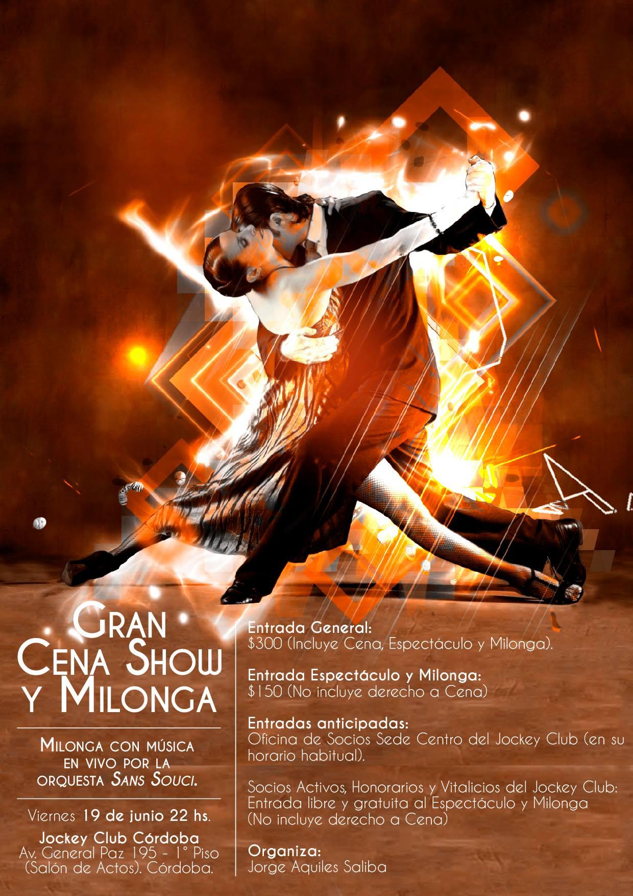 Gran Cena Show y Milonga