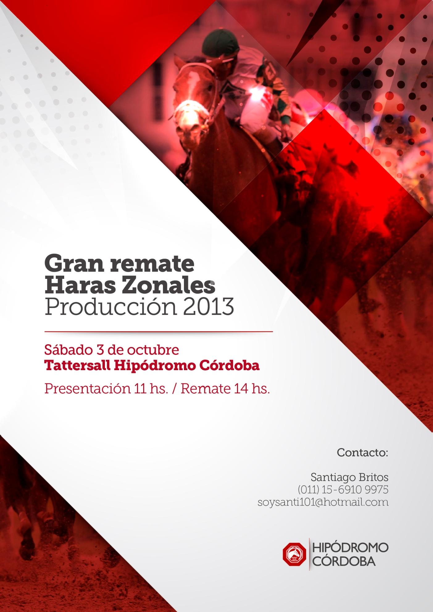 Remate 2015 - Hipódromo Córdoba - 75° San Jerónimo