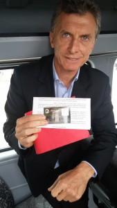 Sr Presidente Mauricio Macri Socio del Jockey Club Córdoba