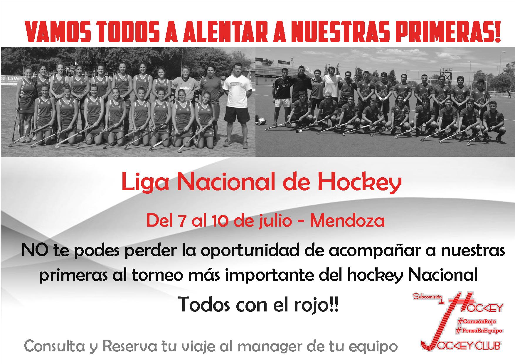 JCC Hockey - primeras - Liga Nacional A