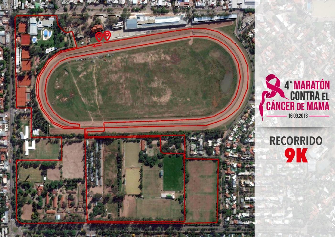 4ta Maratón Contra el Cáncer de Mama - Circuito 9K